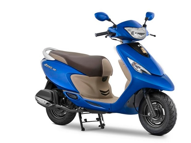TVS Wego Matte blue