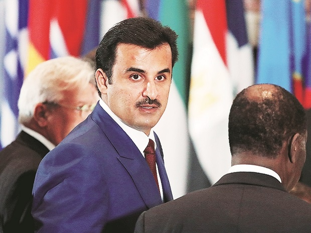 Qatar's emir, Sheikh Tamim bin Hamad al-Thani, had been quoted in May as praising Hamas and saying that Iran was an 'Islamic power'. Photo: Reuters