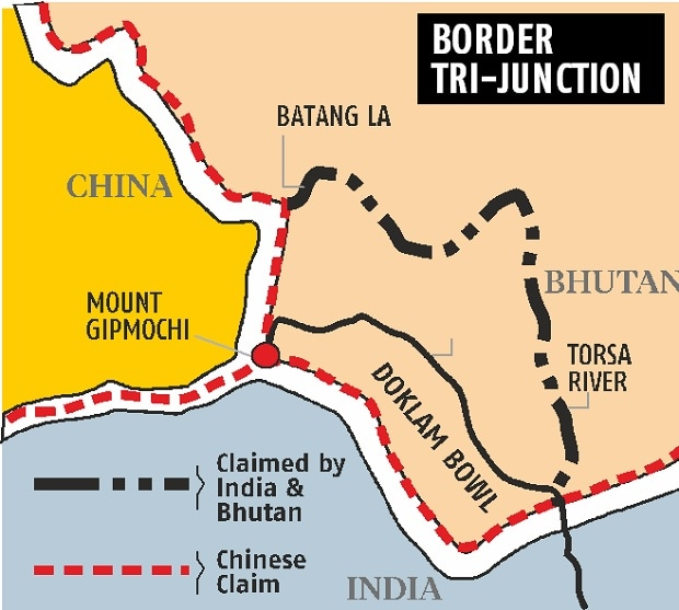 Doklam standoff: 53 Indian troops still illegally present
