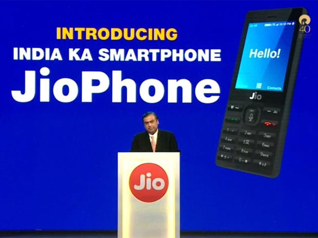 Highlights: Mukesh Ambani unveils new 4G feature phone at RIL AGM