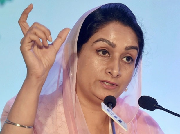 Union Minister of Food Processing Industries, Harsimrat Kaur Badal,World Food India 2017