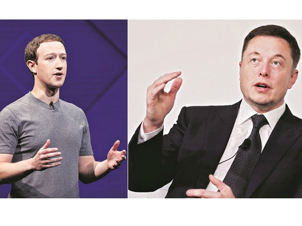 Mark Zuckerberg and Elon Musk