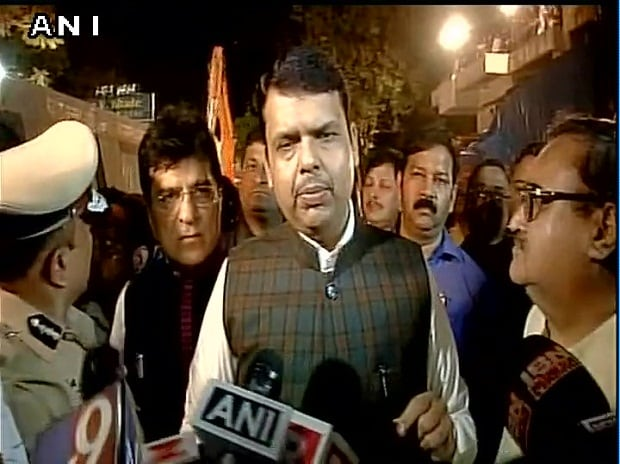 Offence registered, police is investigating. I have directed BMC commissioner to investigate and submit report within 15 days:Maharashtra CM