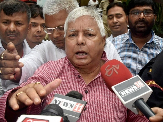 File photo: RJD chief Lalu Prasad