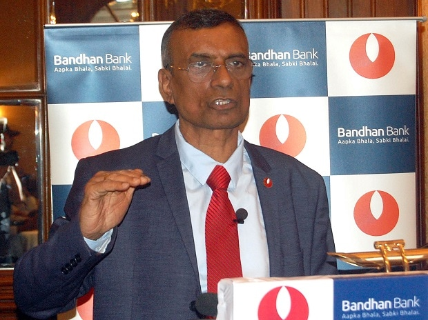 Chandra Shekhar Ghosh, MD & CEO, Bandhan Bank. Photo: Subrata Majumder