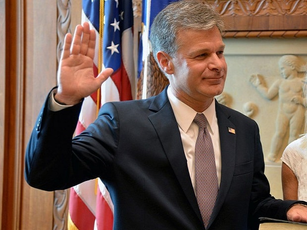 Christopher Wray, FBI director, US