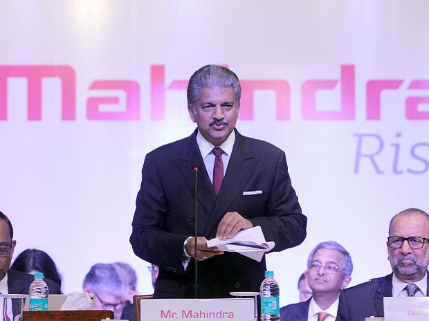 Anand Mahindra, CMD, Mahindra Group at the M&M's 71st AGM in Mumbai. Photo: Kamlesh Pednekar