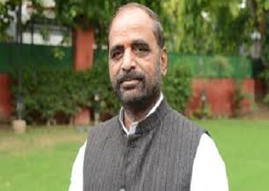 Hansraj Ahir, MoS for Home Affairs