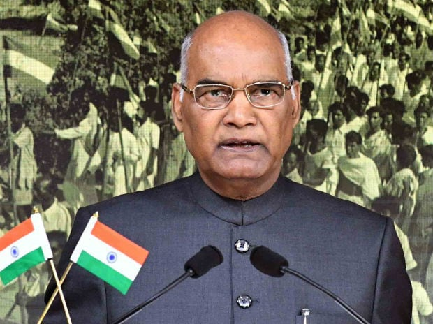 President Ram Nath Kovind making his maiden address to the nation on the eve of Independence Day