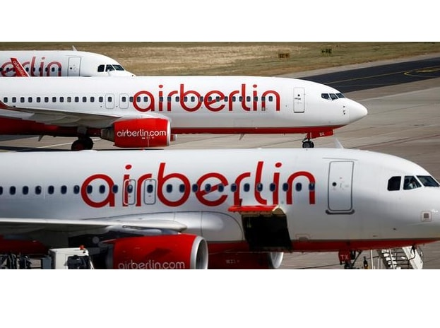 File photo of German carrier Air Berlin's aircrafts pictured at Tegel airport in Berlin, Germany. Photo: Reuters