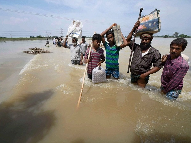 Flood situation in Bihar grim