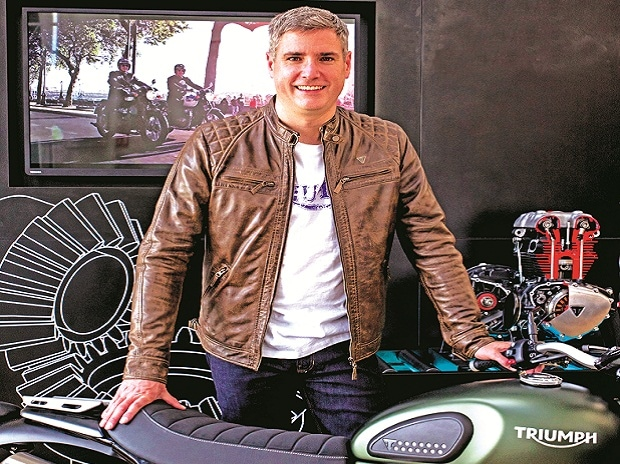 Bikes from Bajaj tie-up will be sold here & exported too: Nick Bloor