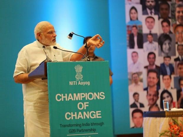 Narendra Modi, Modi, CEOs, entrepreneurs, start-ups, Champions of Change, New India