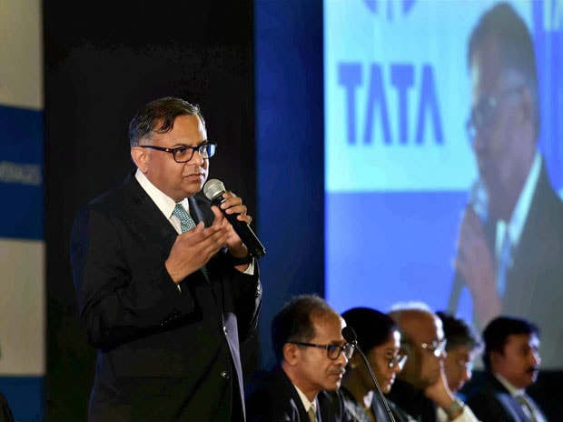 ChairmanN Chandrasekaran. Photo: PTI