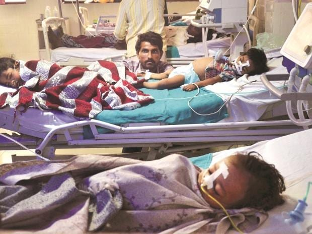 Gorakhpur, Gorakhpur tragedy, deaths