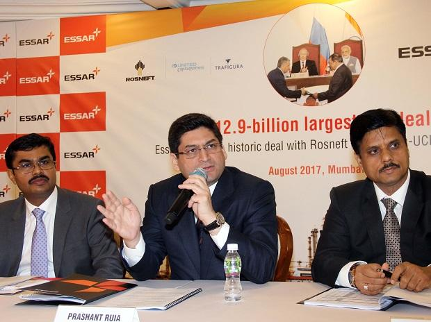 After Essar Oil sale to Rosneft, Ruias to pare 67% of Rs 1.05 lakh cr debt