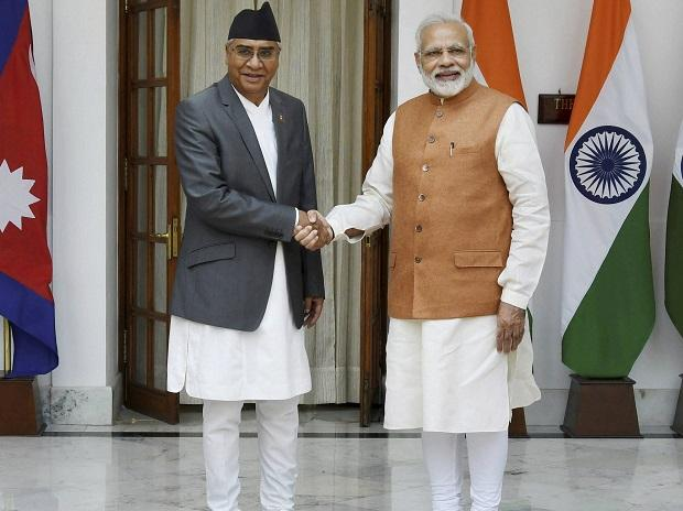 Sher Bahadur Deuba, Nepal, Modi