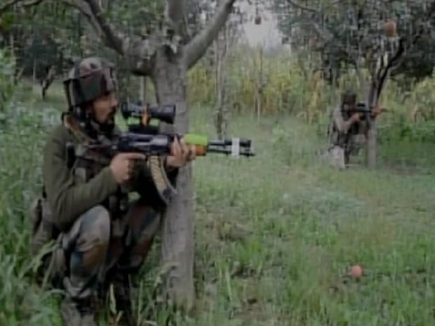 4 security personnel were injured in terror attack in Pulwama