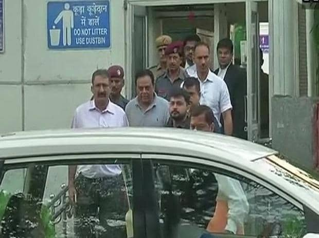 Meat exporter Moin Qureshi sent to ED custody till August 31 by Patiala House Court, his lawyers allowed to meet him everyday for 15 minutes. Photo: ANI