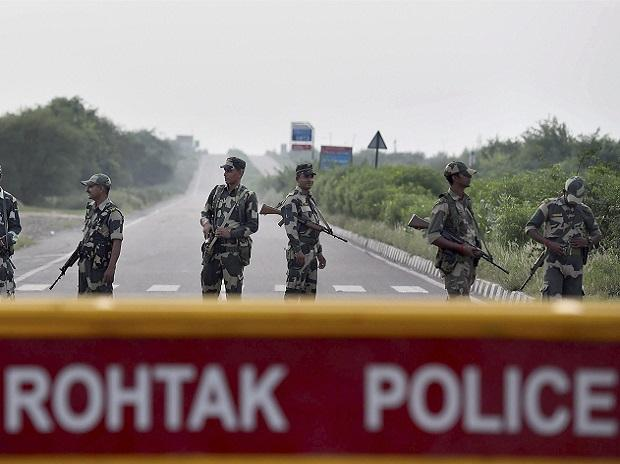 Tight security in Rohtak ahead of Dera chief sentencing; curfew in Sirsa