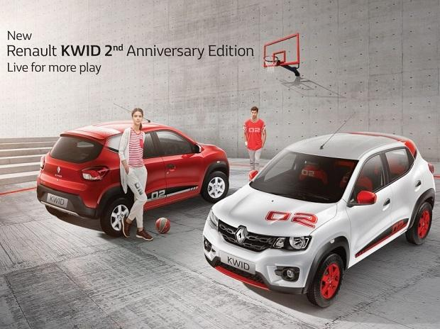 Renault Kwid anniversary edition