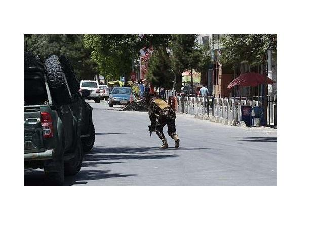 Kabul blast. Photo: Twitter