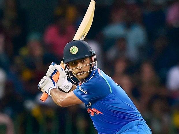 India's Mahendra Singh Dhoni plays a shot against Sri Lanka during the 4th ODI match in Colombo, Sri Lanka. (File Photo: PTI)