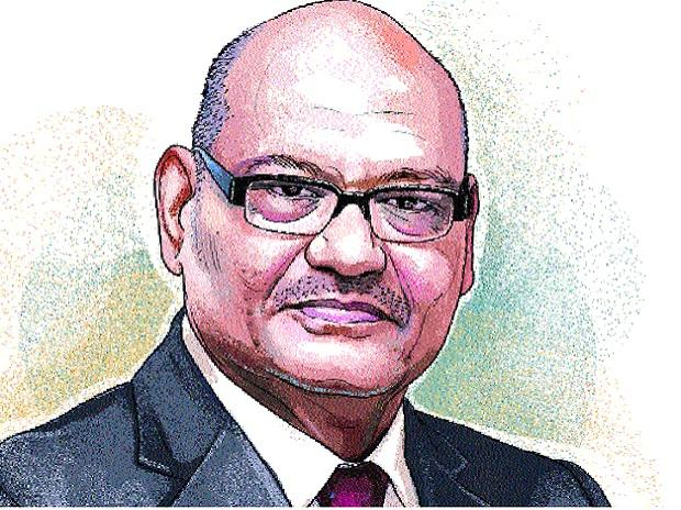 Anil Agarwal, Chairman, Vedanta Resources. Illustration: Ajay Mohanty