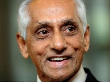 J Y Pillay, Singapore, acting President of Singapore