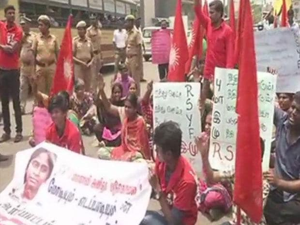 NEET outcry: Parties, pro-Tamil outfits stage protest over Anitha's suicide
