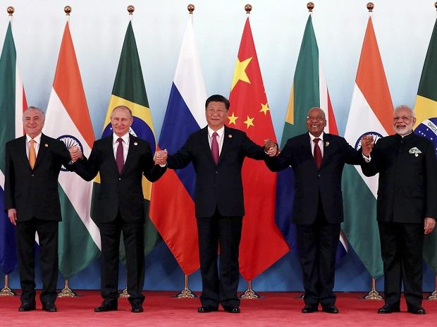 BRICS 2017, Brazil, Russia, India, China, South Africa