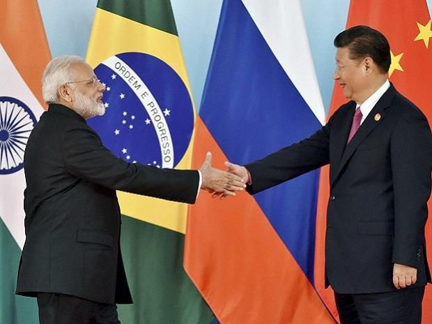 Modi Xi meeting