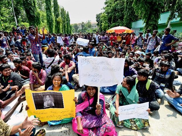NEET exams, Chennai, anti-NEET protests