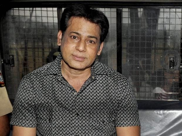 A file photo of extradited gangster Abu Salem who was convicted by a special TADA court in 1993 Mumbai blasts case, in Mumbai.