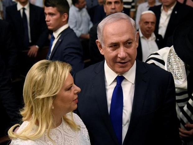 Israel PM Benjamin Netanyahu's wife, Sara Netanyahu, will be indicted for fraud, Israel's attorney general announces: Israel media. Photo: Ani