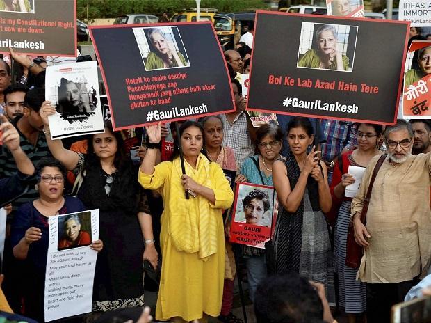 Gauri Lankesh, Shabana Azmi