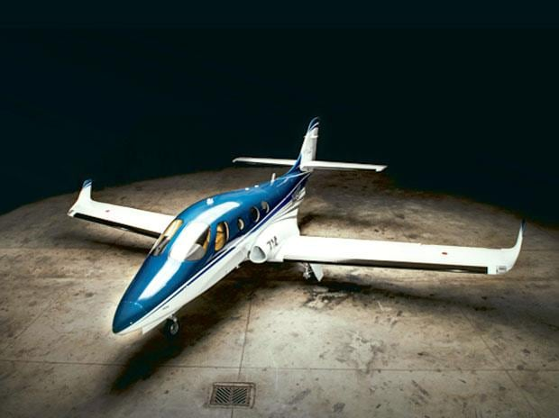 The family-friendly private jet takes off