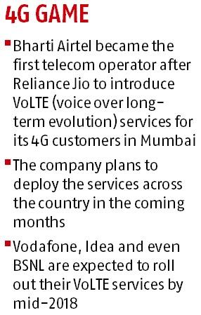 Airtel launches VoLTE services in Mumbai