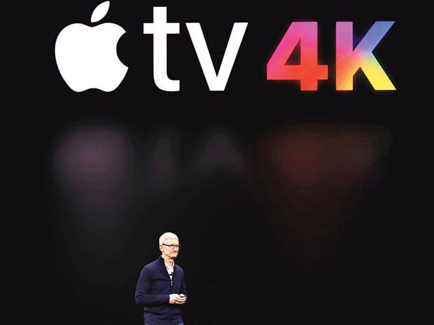 CEO Tim Cook at Apple Event
