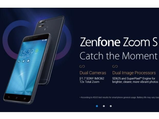 ASUS Zenfone Zoom S. Photo: https://www.asus.com/in/