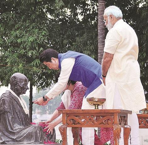 Modi-Abe meeting