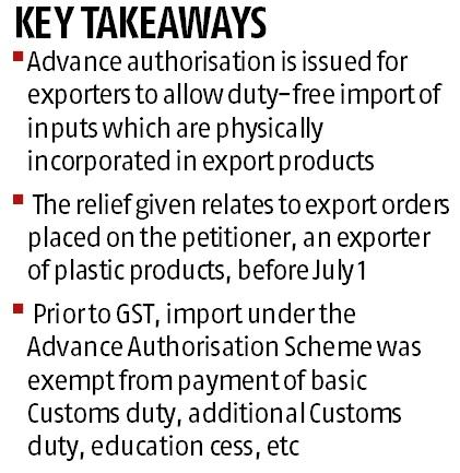 Delhi HC allows exporter to import without paying IGST