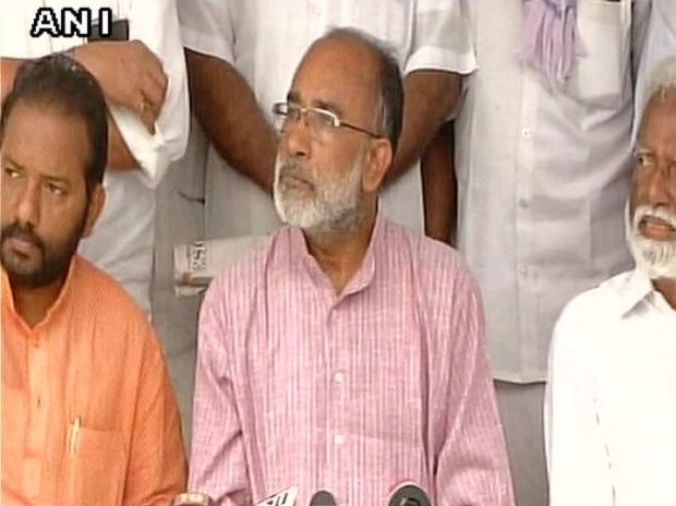 Union Min Alphons Kannanthanam. (Photo: Twitter, @ANI)