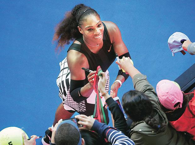 Serena Williams. (Photo: Reuters)