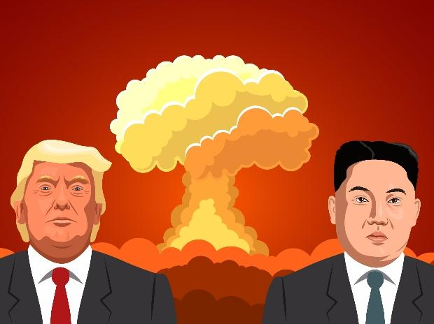 Kim Jong-un, Donald Trump, North Korea, US