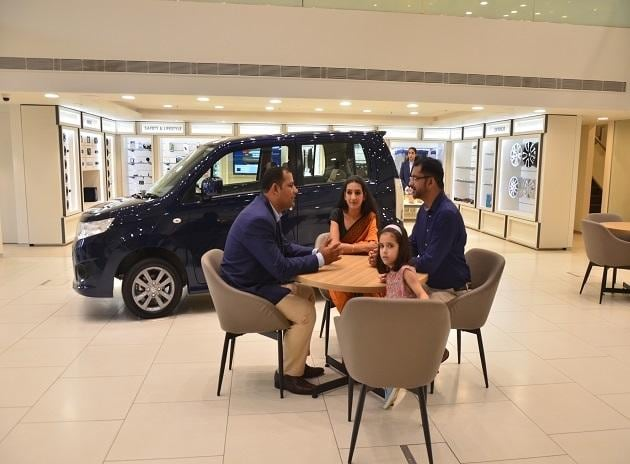 The car maker's first ARENA dealership at Indraprastha metro station, Delhi