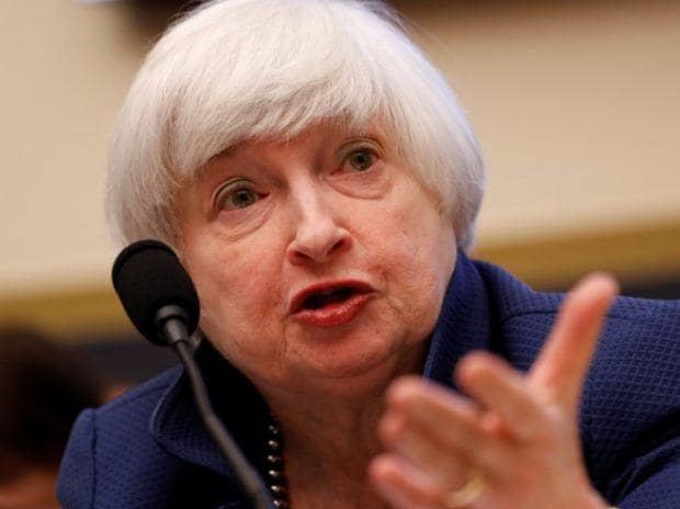 File photo of Federal Reserve Board Chairwoman Janet Yellen (Photo: Reuters)
