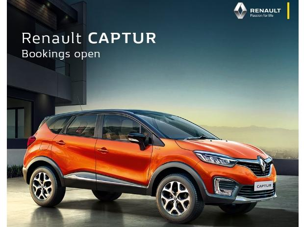 Renault Captur SUV. Photo: @RenaultIndia( Twitter)