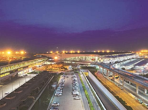 igi airport metro station to terminal 2