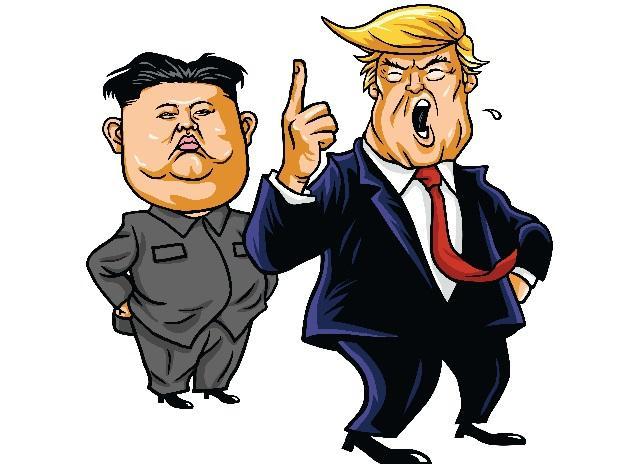 Donald Trump, Kim Jong-un, US, North Korea